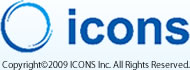Copyright©2009 ICONS Inc. All Rights Reserved.